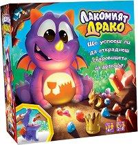 Лакомият Драко - Детска състезателна игра - играчка