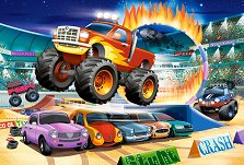 """Трикове с чудовищен пикап - Пъзел с едри елементи от серията """"Castorland: Premium Kids"""" - пъзел"""