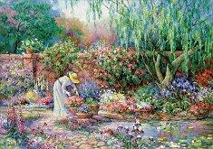 Нейната градина - пъзел