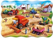 Работа във фермата - пъзел
