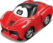 """Количка с обратен завой - Ferrari - Играчка с pull-back механизъм от серията """"Junior"""" -"""