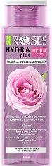 """Nature of Agiva Roses Hydra Plus Micellar Water - Мицеларна вода за чувствителна кожа от серията """"Roses"""" -"""