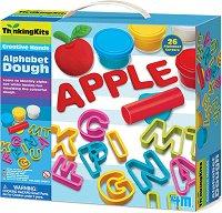 """Пластилин - Английската азбука - Образователен комплект от серията """"Thinking Kits"""" -"""