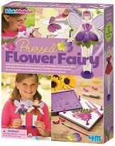 Декорирай феите с преса за цветя - Творчески комплект -