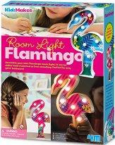 Направи сама декоративна лампа - Фламинго - Творчески комплект -