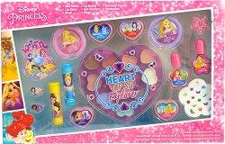 """Детски комплект с гримове - Disney Princess - От серията """"Принцесите на Дисни"""" - продукт"""