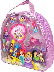 Детски комплект с гримове в чантичка - Disney Princess - парфюм