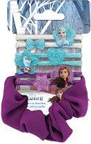 """Детски ластици за коса - Frozen 2 - Комплект от 7 броя от серията """"Замръзналото кралство"""" -"""