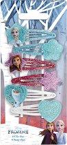 """Детски фиби за коса - Frozen 2 - Комплект от 6 броя от серията """"Замръзналото кралство"""" - играчка"""