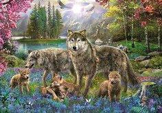 Семейство вълци - Ян Патрик Красни (Jan Patrik Krasny) -