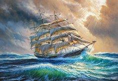 Плаване през буря -