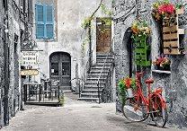 Алеята с червеното колело -