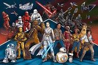 """Междузвездни войни IX - Възходът на Скайуокър - От серията """"Star Wars"""" - пъзел"""