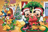 """Коледа с Мики Маус - От серията """"Мики Маус"""" - пъзел"""