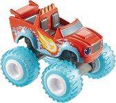 """Пламъчко - Метална количка от серията """"Пламъчко и машините"""" - играчка"""