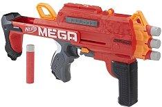 """Бластер - Mega Bulldog - Комплект с 6 броя меки стрелички от серията """"Nerf N-Strike"""" -"""