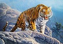 Тигър в планината - пъзел