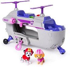 """Спасителният хеликоптер на Скай - Детска играчка със звукови и светлинни ефекти от серията """"Пес патрул"""" -"""