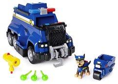"""Полицейският камион на Чейс - Детска играчка със звукови и светлинни ефекти от серията """"Пес патрул"""" -"""