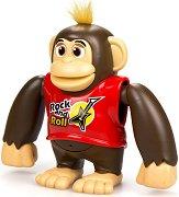 """Маймуната Chimpy - Ходеща играчка със звукови ефекти от серията """"Ycoo"""" -"""