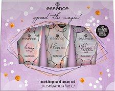 Подаръчен комплект - Essence Spread The Magic - Подхранващи кремове за ръце - крем