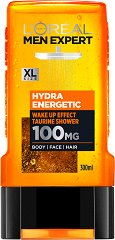 L'Oreal Men Expert Hydra Energetic 3 in 1 Taurine Shower - паста за зъби