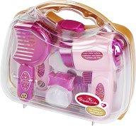 Детски фризьорски комплект в куфарче -