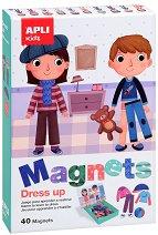 Облечи децата - Детски комплект с 40 магнита -