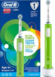 Oral-B Junior Electric Toothbrush 6+ - Детска електрическа четка за зъби -