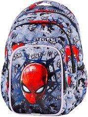 Ученическа раница  - Spark L: Spiderman Black - раница