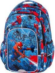 Ученическа раница  - Spark L: Spiderman Denim - раница
