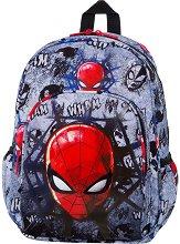 Раница за детска градина - Toby: Spiderman Black - раница