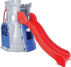 Детски център - Замък с пързалка - играчка