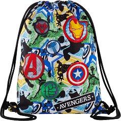 Спортна торба - Sprint: Avengers Badges - детски аксесоар