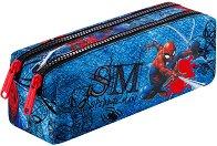 Ученически несесер - Edge: Spiderman Denim - раница