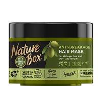 Nature Box Olive Oil Anti-Breakage Mask - спирала