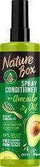 Nature Box Avocado Oil Spray Conditioner - Спрей балсам с масло от авокадо за лесно разресване на косата - сапун