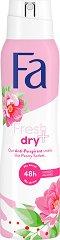 Fa Fresh & Dry Peony Sorbet Scent 48H Anti-Perspirant -