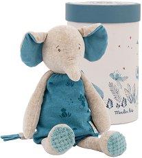 """Слончето Бергамот - Детска плюшена играчка в кутия от серията """"Under My Baobab"""" -"""