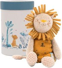 """Лъвчето Паприка - Детска плюшена играчка в кутия от серията """"Under My Baobab"""" -"""