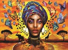 Красива африканка -