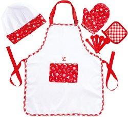 Детска готварска униформа - детски аксесоар