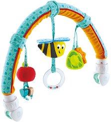 Градински приятели - Дрънкалка за детска количка, столче или легло -