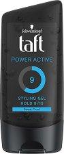 Taft Power Active Gel - Гел за коса със силна фиксация -