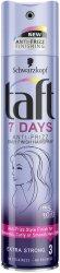 Taft 7 Days Anti-Frizz Hairspray - Лак за коса с ефект против наелектризиране -