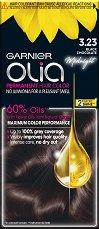 Garnier Olia Permanent Hair Color - Трайна боя за коса без амоняк - маска