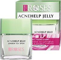 Nature of Agiva Acne Help Jelly - Дневен гел крем за комбинира и склонна към акне кожа - гел