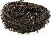 Декоративно гнездо - С диаметър ∅ 8 cm