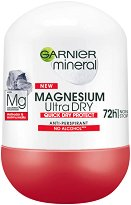 Garnier Mineral Magnesium Ultra Dry Anti-Perspirant Roll-On - душ гел
