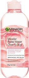 Garnier Micellar Cleansing Rose Water - Мицеларна розова вода за чувствителна кожа - мокри кърпички